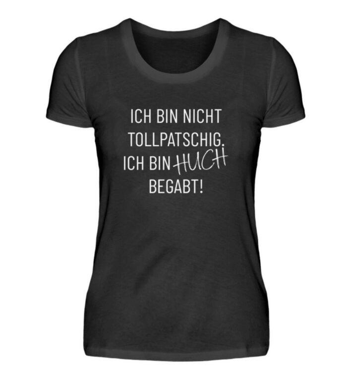 Ich bin nicht tollpatschig - Damenshirt-16